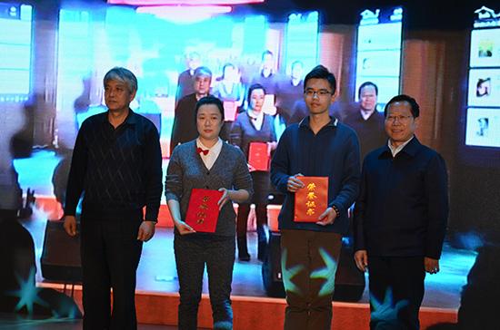 二等奖选手张蕊和孙东临