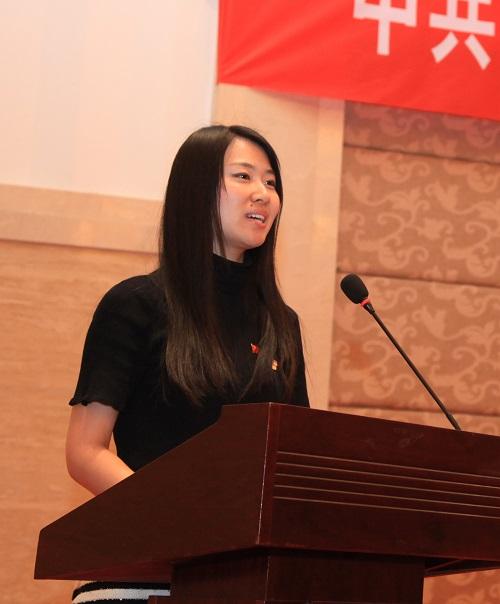 第一视频党委副书记王萌发言