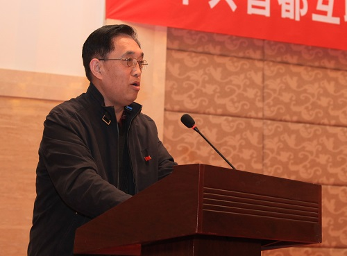 党建指导员代表马为平发言